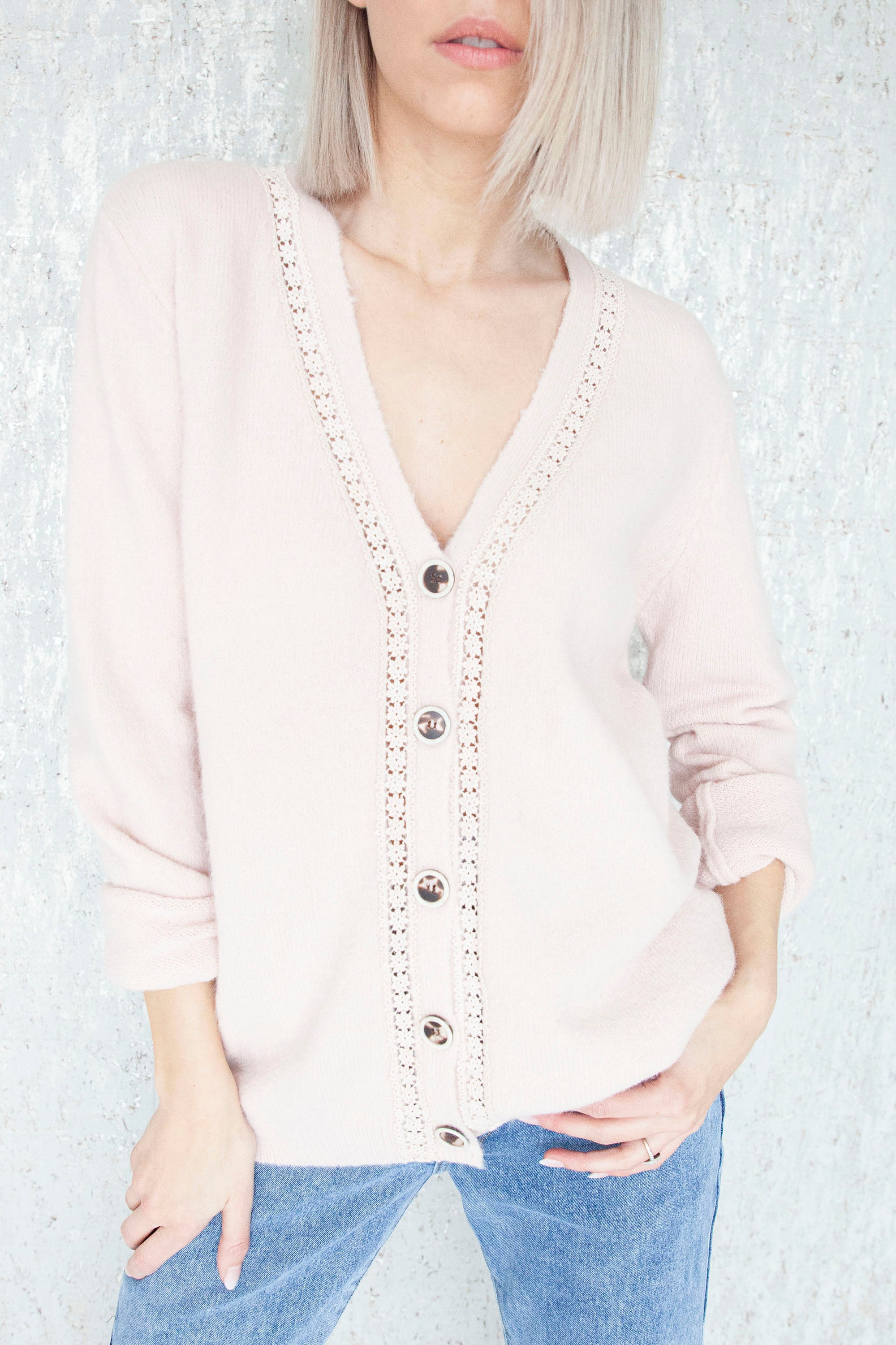 Cozy Afternoon Soft Pink - Gilet