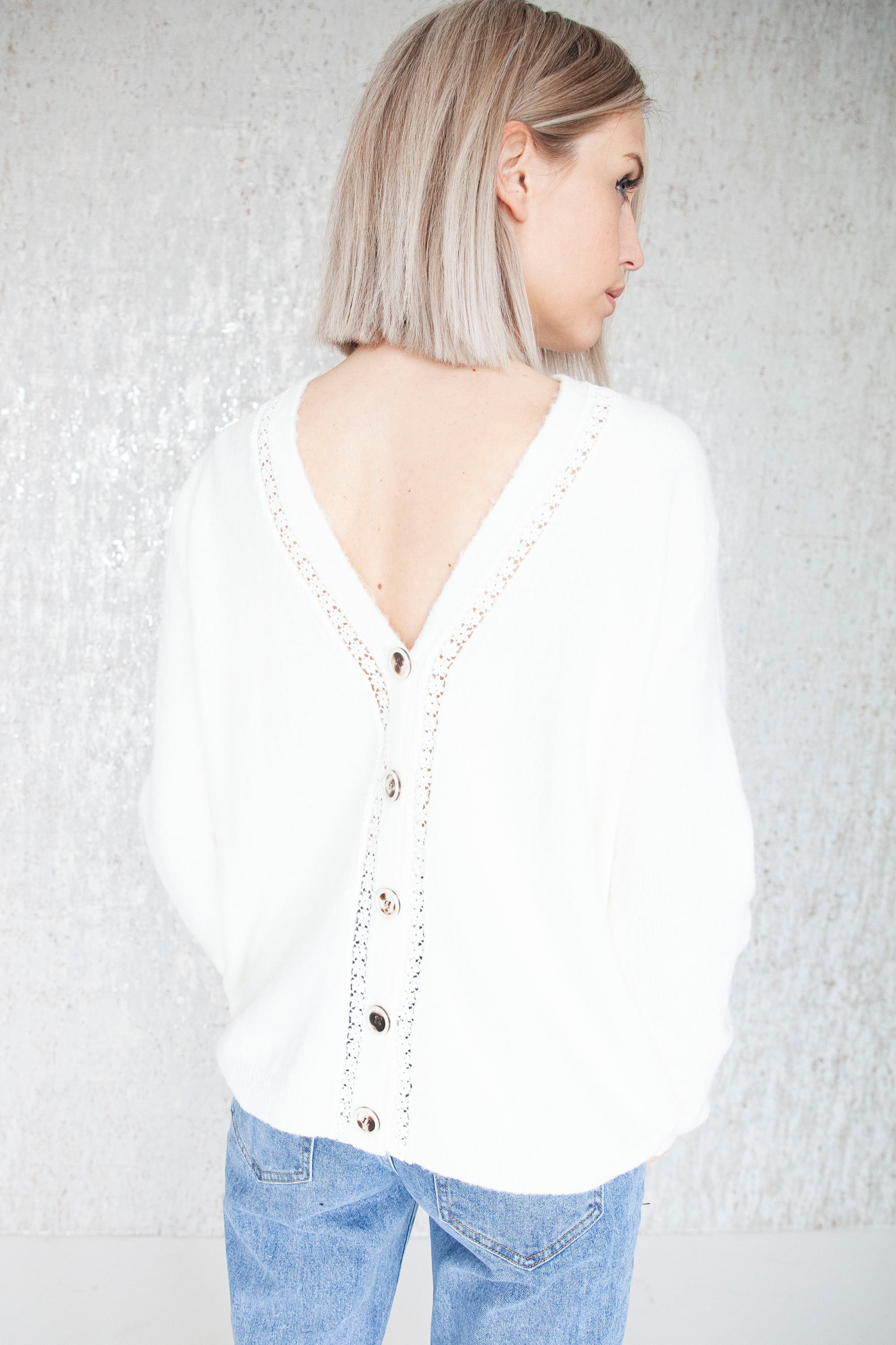 Cozy Afternoon Off White - Gilet
