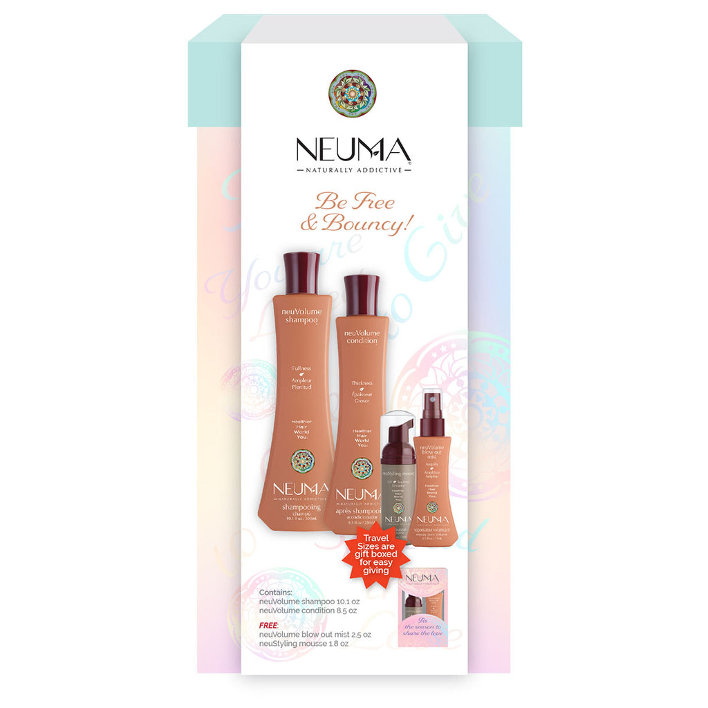 Be Free & Bouncy Hair Care Gift Set--SAVE 28%