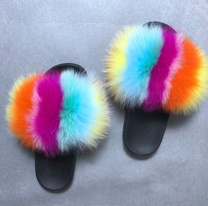 Flavors Fur Slippers