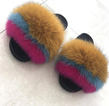 Load image into Gallery viewer, Cupcake Fur Slippers