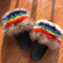 Load image into Gallery viewer, Pride Fur Slippers