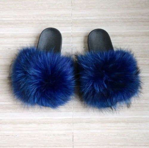 Royalty Fur Slippers