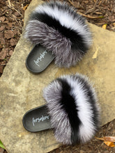 Load image into Gallery viewer, Colorless Fur Slippers