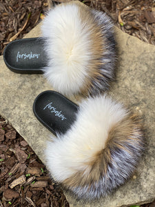 Coconut Fur Slippers