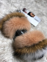 Load image into Gallery viewer, French Vanilla Fur Slippers