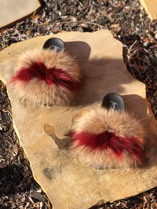Heartless Fur Slippers