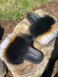 Decided Fur Slippers