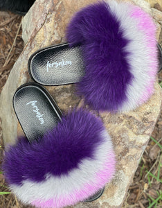 Lavish Fur Slippers