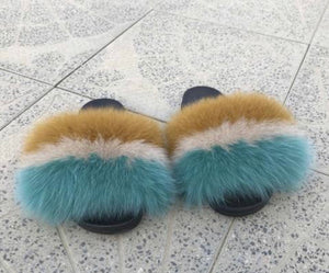 Travel Fur Slippers