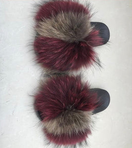 Journey Fur Slippers