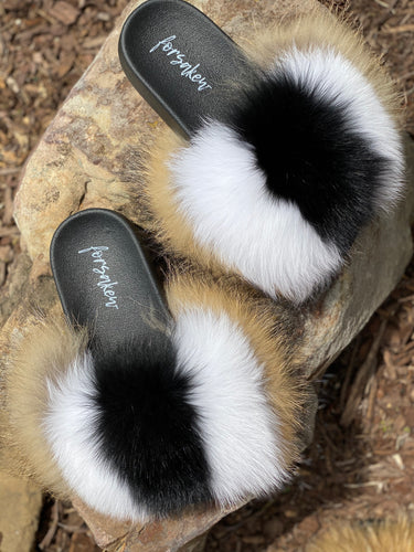 Snickers Fur Slippers