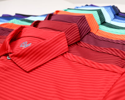 DELOACH SHADOW STRIPE POLO