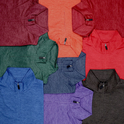 MCCALLISTER QUARTER ZIP PULLOVER