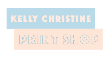 kelly christine print shop