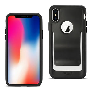 Reiko Iphone X Belt Clip Polymer Case In Black