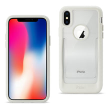 Load image into Gallery viewer, Reiko Iphone X Belt Clip Polymer Case In Clear White