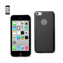 Load image into Gallery viewer, Reiko Iphone 5c Semi Clear Candy Case In Black