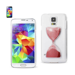 Reiko Samsung Galaxy S5 3d Sand Clock Clear Case In Red