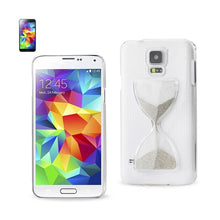Load image into Gallery viewer, Reiko Samsung Galaxy S5 3d Sand Clock Clear Case In Silver
