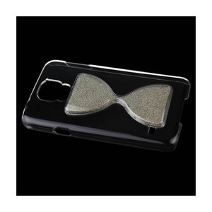 Reiko Samsung Galaxy S5 3d Sand Clock Clear Case In Silver
