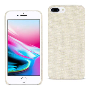 Reiko Iphone 8 Plus Herringbone Fabric In Beige