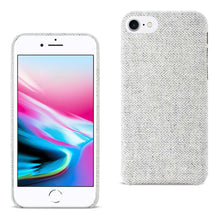 Load image into Gallery viewer, Reiko Iphone 8 Herringbone Fabric In Light Gray
