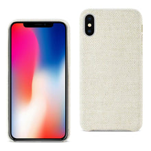 Load image into Gallery viewer, Reiko Iphone X Herringbone Fabric In Beige