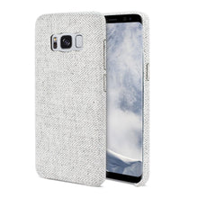 Load image into Gallery viewer, Reiko Samsung Galaxy S8 Edge Herringbone Fabric In Light Gray