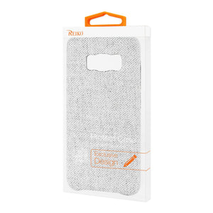 Reiko Samsung Galaxy S8 Edge Herringbone Fabric In Light Gray