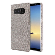 Load image into Gallery viewer, Reiko Samsung Galaxy Note 8 Herringbone Fabric In Dark Gray