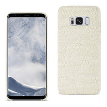 Load image into Gallery viewer, Reiko Samsung Galaxy S8 Herringbone Fabric In Beige
