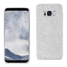 Load image into Gallery viewer, Reiko Samsung Galaxy S8 Herringbone Fabric In Light Gray