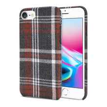 Load image into Gallery viewer, Reiko Iphone 8 Checked Fabric In Brown