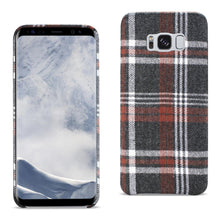 Load image into Gallery viewer, Reiko Samsung Galaxy S8 Checked Fabric In Brown