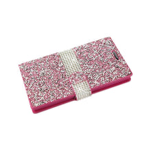 Load image into Gallery viewer, Reiko Lg Spree Jewelry Rhinestone Wallet Case In Pink