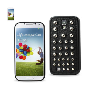 Reiko Samsung Galaxy S4 Sphere Studded Case In Black