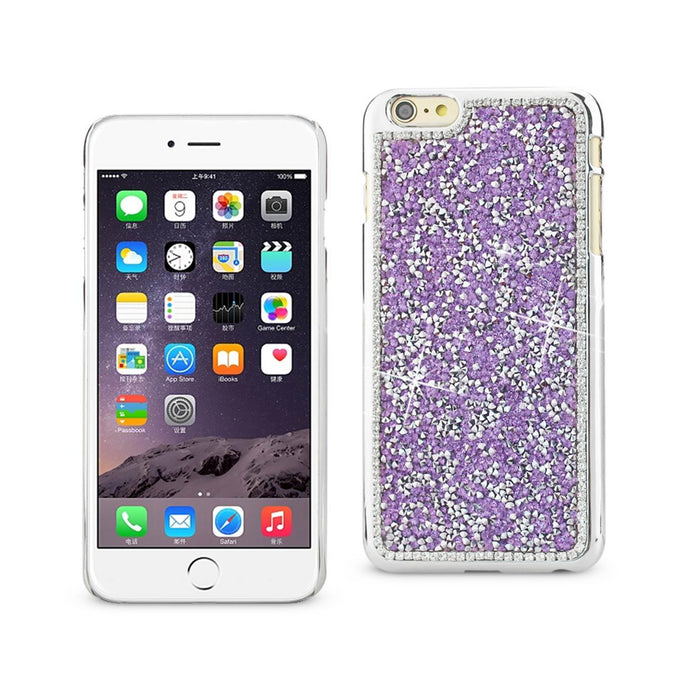 Reiko Iphone 6s Plus Jewelry Bling Rhinestone Case In Purple