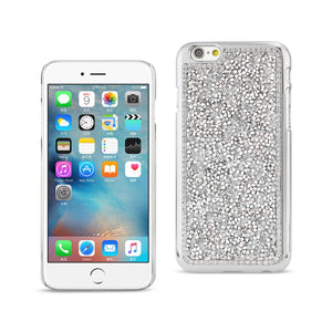 Reiko Iphone 6s- Iphone 6 Jewelry Bling Rhinestone Case In Silver