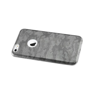 Reiko Iphone 6 Plus- 6s Plus Shine Glitter Shimmer Camouflage Hybrid Case In Brown