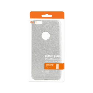 Reiko Iphone 6 Plus- 6s Plus Shine Glitter Shimmer Hybrid Case In Silver