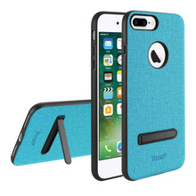 Load image into Gallery viewer, Reiko Iphone 8 Plus- 7 Plus Rugged Texture Tpu Protective Cover In Blue