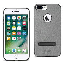 Load image into Gallery viewer, Reiko Iphone 8 Plus- 7 Plus Rugged Texture Tpu Protective Cover In Gray