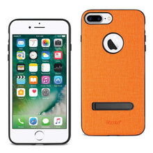 Load image into Gallery viewer, Reiko Iphone 7 Plus- 6s Plus- 6 Plus Rugged Texture Tpu Protective Cover In Orange