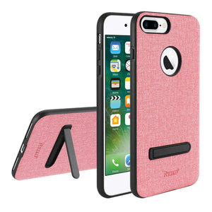 Reiko Iphone 7 Plus- 8 Plus  Rugged Texture Tpu Protective Cover In Pink