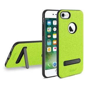 Reiko Iphone 7- 6- 6s Denim Texture Tpu Protector Cover In Green