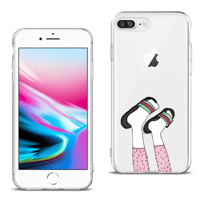 Reiko Apple Iphone 8 Plus Design Air Cushion Case With Feet In White