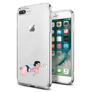 Reiko Apple Iphone 8 Plus Design Air Cushion Case With Lady In Pink