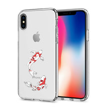 Load image into Gallery viewer, Reiko Apple Iphone X Design Air Cushion Case With Fish In Blue