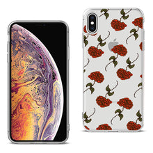 Load image into Gallery viewer, Reiko Apple Iphone Xs Max Design Air Cushion Case With Rose In Black